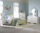 Spring Rose Metal Bed Twin Size | Standard Furniture | ST-5028380