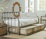 Tristen Daybed with Trundle Pewter | Standard Furniture | ST-87500