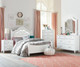 Olivia Upholstered Poster Bed Twin Size | 27406 | ST-938519385293853