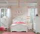 Jessica 5 Drawer Chest White   Standard Furniture   ST-94205