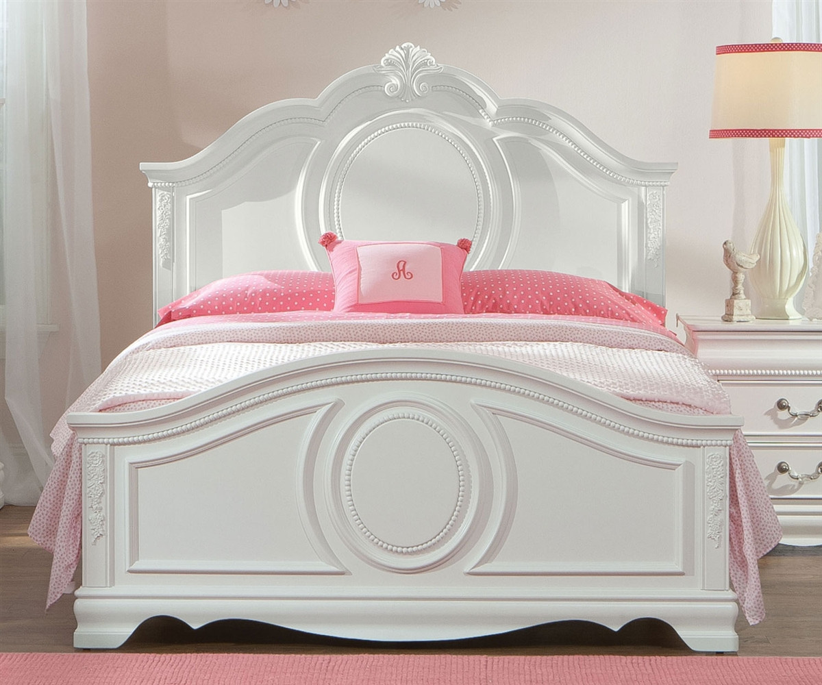Girls Bedroom Sets White: Standard Furniture Jessica Full Size Panel Bed