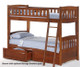 Timber Creek Full over Full Bunk Bed White   27464   TCFFB-WH
