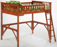 Timber Creek Loft Bed Cherry | Night and Day Furniture | TCLOFT-CHY