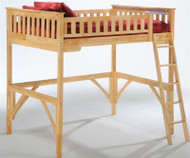 Timber Creek Loft Bed Natural | Night and Day Furniture | TCLOFT-NAT