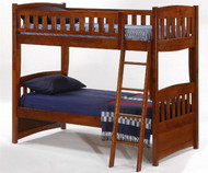 Timber Creek Bunk Bed Cherry | Night and Day Furniture | TCTTB-CH