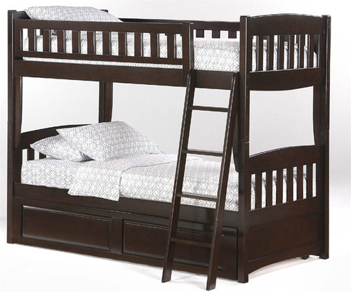 Timber Creek Bunk Bed Chocolate 1 | Night and Day Furniture | TCTTB-CLTE
