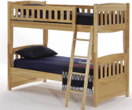 Timber Creek Bunk Bed Natural | Night and Day Furniture | TCTTB-N