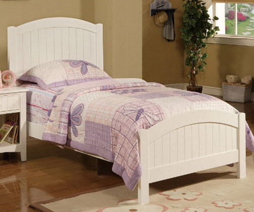 Cape Town Size Twin Panel Bed | Poundex Furniture | UF-F9049