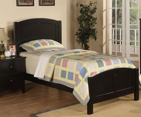 Kids black bedroom furniture Furniture Sets Braxton Twin Size Panel Bed Poundex Furniture Uf9208cl Kids Furniture Warehouse Poundex Furniture F9208 Black Kids Twin Bed Kid Bedroom Furniture