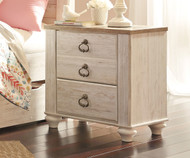 Willowton Two Drawer Nightstand