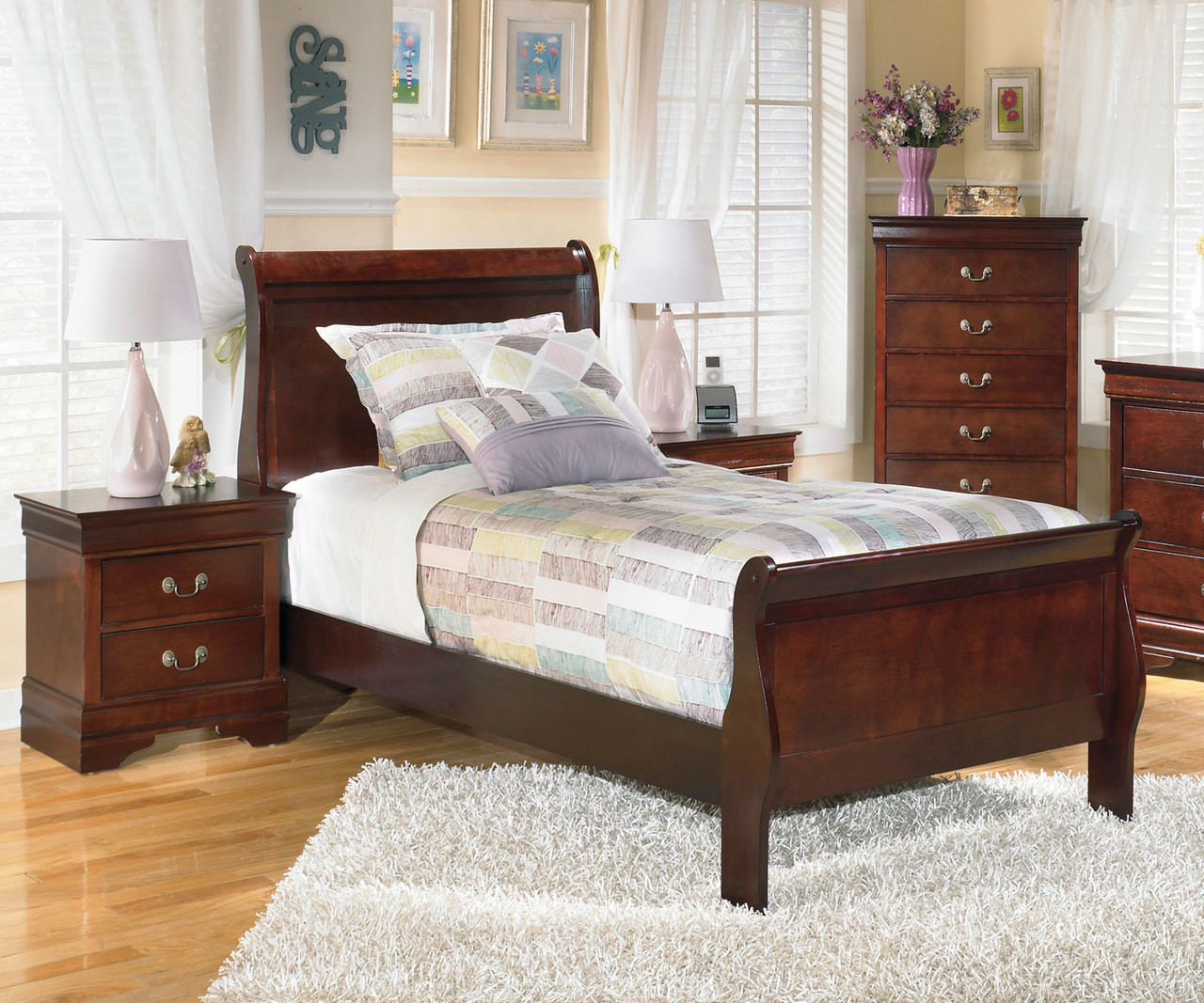 - Alisdair Twin Size Sleigh Bed B376 Ashley Kids Furniture KFW