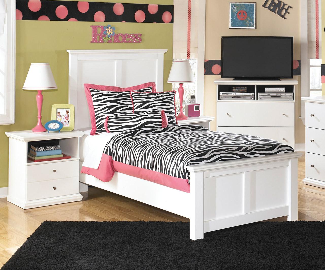 Ashley Furniture Tampa Florida: Bostwick Shoals Twin Size Panel Bed B139