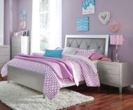 Olivet Upholstered Panel Bed Full Size