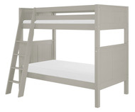 Camaflexi High Bunk Bed Twin Size Grey 2