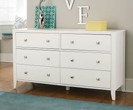 Urbana 6 Drawer Dresser White