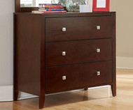 Urbana 3 Drawer Chest Cherry