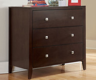 Urbana 3 Drawer Chest Chocolate