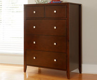 Urbana 5 Drawer Chest Cherry