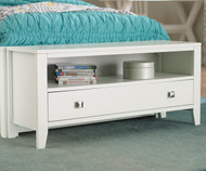 Urbana Dressing Bench White