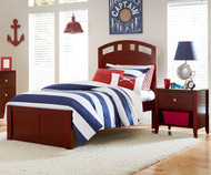 Urbana Arch Bed Twin Size Cherry