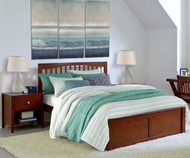 Urbana Mission Bed Full Size Cherry