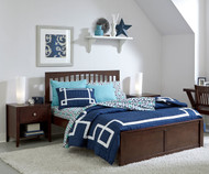 Urbana Mission Bed Full Size Chocolate