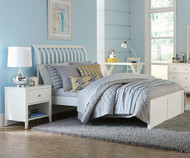 Urbana Mission Bed Full Size White