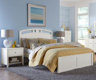 Urbana Arch Bed Full Size White