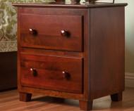 Atlantic Nightstand Antique Walnut | Atlantic Furniture | ATL-C-68204