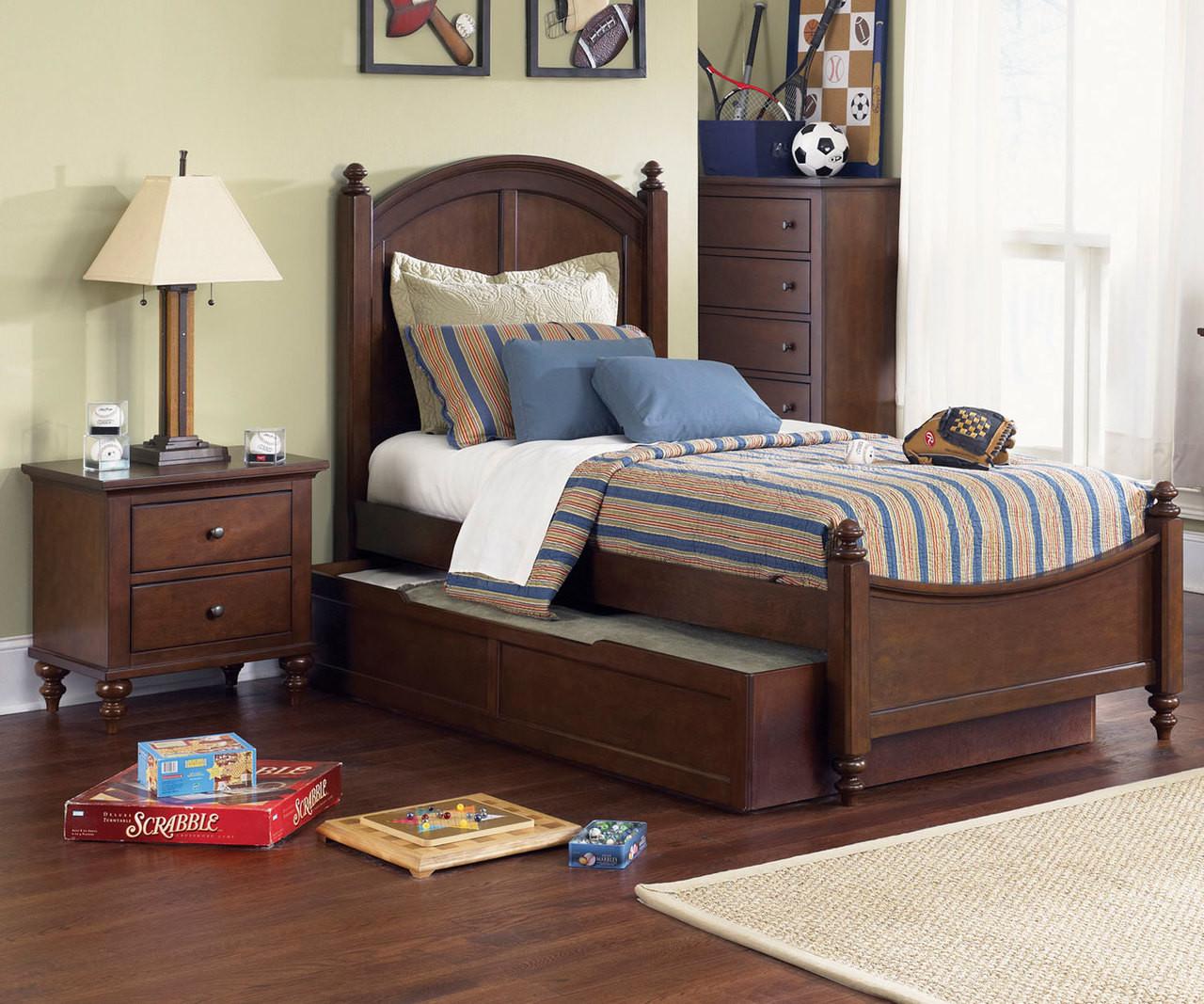 Abbott Ridge Panel Bed Twin Size