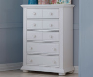 Summer House 5 Drawer Chest White