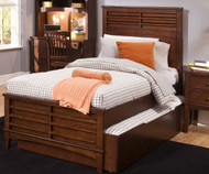 Chelsea Square Panel Bed with Trundle Twin Size