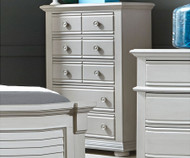 Summer House 5 Drawer Chest Gray