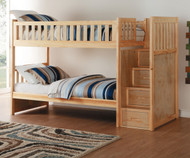 Stanford Stair Bunk Bed Natural