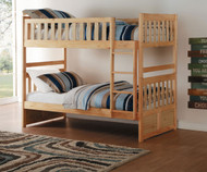 Stanford Bunk Bed Natural