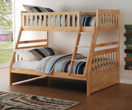 Stanford Twin over Full Bunk Bed Natural