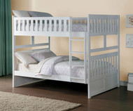 Stanford Full over Full Bunk Bed White