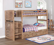 Remington Mission Stair Stepper Bunk Bed