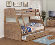 Remington Twin over Full Bunk Bed