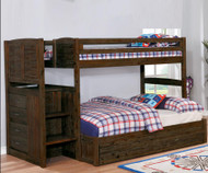 Preston Twin over Full Stair Stepper Bunk Bed