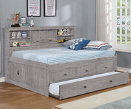 Northview Full Size Bookcase Captain's Daybed