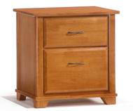 Juniper Nightstand Medium Oak