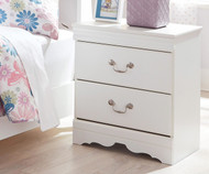 Anarasia 2 Drawer Nightstand