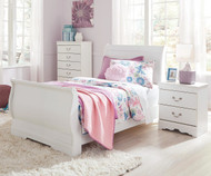 Anarasia Sleigh Bed Twin Size