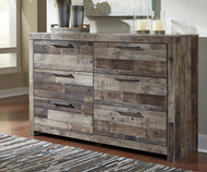 Derekson 6 Drawer Dresser