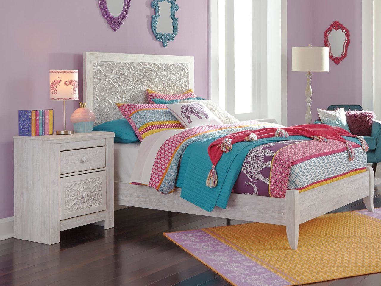 Paxberry Full Size Panel Bed B181 Ashley Kids Furniture