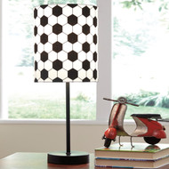 Lamar Metal Table Lamp Soccer