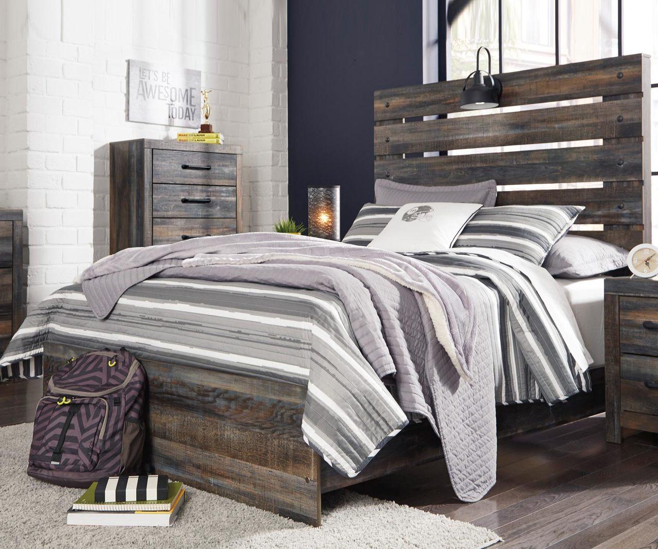 Drystan Full Size Panel Bed B211 Ashley Kids Furniture Kids Teens Bedroom Furniture