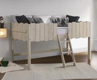 Rustic Sand Loft Bed