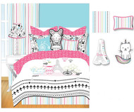 Bon Jour Decorative Pillows Set